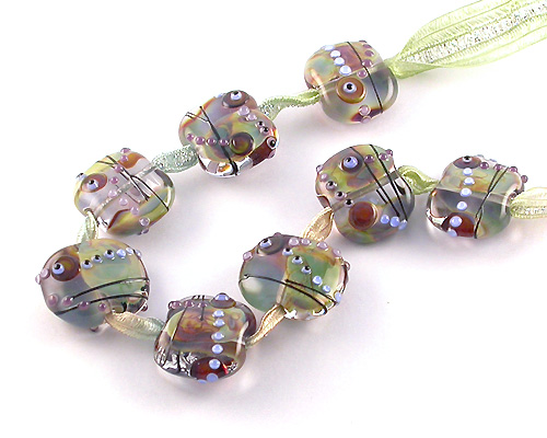 lampwork auction beads