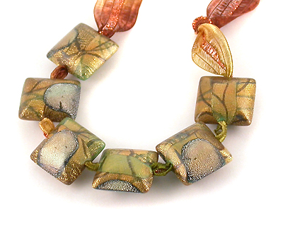 illuminare polymer clay beads