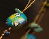 Clarice Lentil Beads - by Emma Ralph