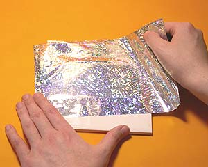 Easy Transfer Holographic Foils