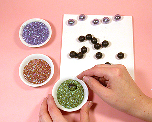 Glitter beads project
