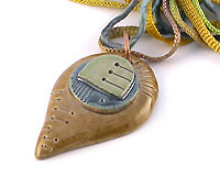 handmade ceramic pendants