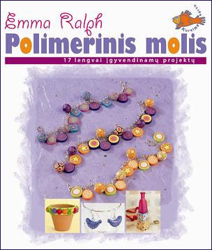 lithuanian polymer clay book by Emma Ralph