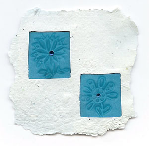 Wooden Printing Blocks Mixed media project by Muriel Veldt