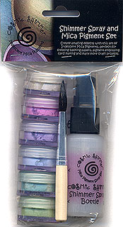 cosmic shimmer mica pigment powder kits