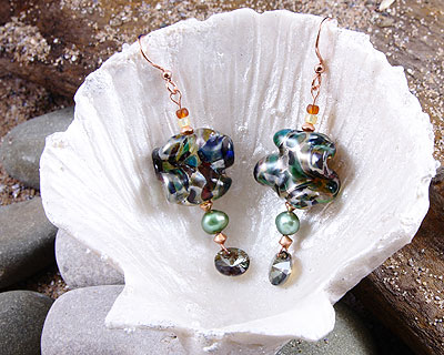 lampwork glass bead jewellery by lindsay philipson
