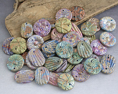 handmade polymer clay charms by Emma Ralph