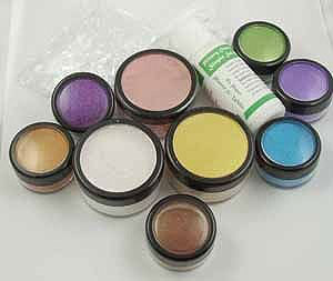 liminarte primary elements polished pigment powders